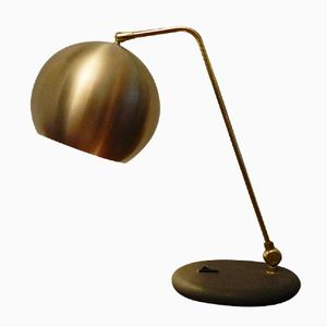 Austrian Rounded Shade Table Lamp, 1970s
