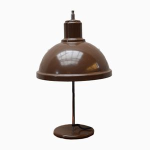 Vintage Brown Metal Lamp