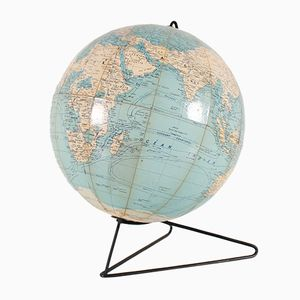 Vintage Globus auf Metallgestell