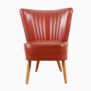 Roter Vintage Sessel