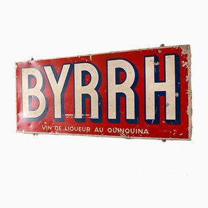 Vintage Advertising Sign for Byrrh, 1956