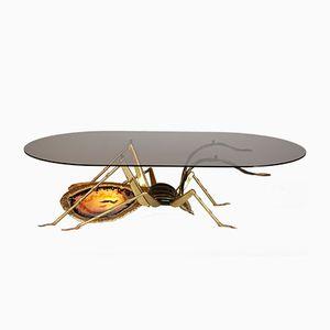 Vintage Beetle Coffee Table by Henri Fernandez for Atelier Duval-Brasseur