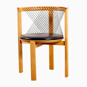 Dänischer Stuhl von Niels Jorgen Haugesen für Tranekær, 1980er