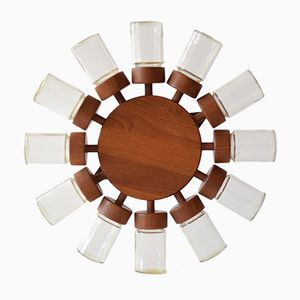 Mid-Century Danish Teak Spice Rack from Digsmed, 1960s