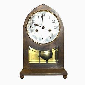 Grande Horloge de Table Sécession Viennoise en Laiton
