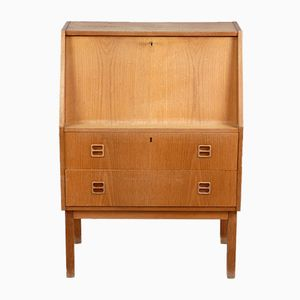 Oak Veneered Secretary Desk