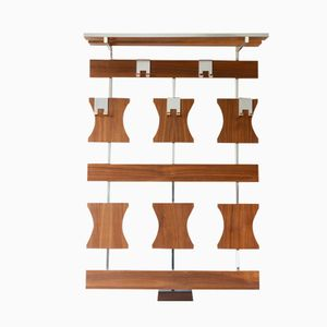 German Wall Mounted Coat Rack