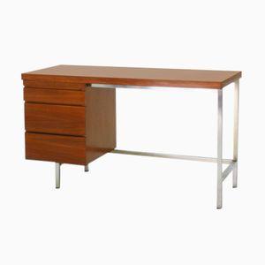 Chrome & Walnut Writing Desk, 1960s