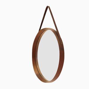 Swedish Circular Mirror, 1950s