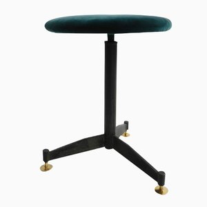 Italian Adjustable Stool, 1950s