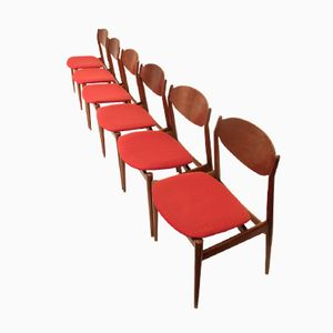 Dining Chairs from ISA Bergamo, 1960s, Set of 6