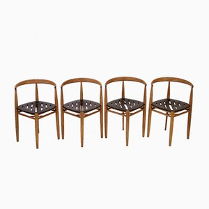 Mid-Century Lilla Carmen Chairs by Jack Ränge for Gemla, Set of 4