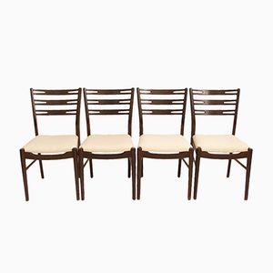 Della Stühle von Sibast, 1950er, 4er Set