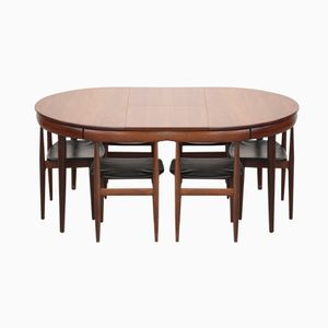 Mid-Century Danish Dining Set by Hans Olsen for Frem Røjle