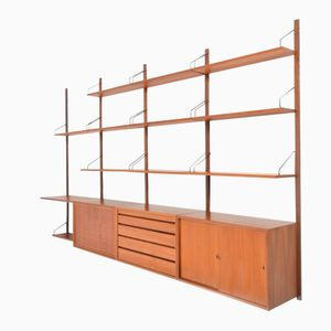 Mid-Century Royal System in Teak by Poul Cadovius for Cado