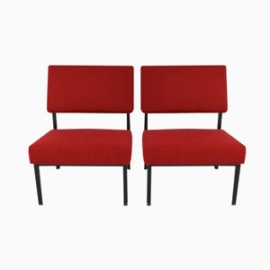 Easy Chairs by Martin Visser for 't Spectrum, 1950s, Set of 2