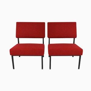 Easy Chairs par Martin Visser pour 't Spectrum, 1950s, Set de 2