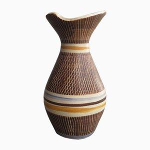 Vase Naturel en Céramique, Allemagne, 1960s