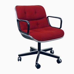 Office Chair par Charles Pollock pour Knoll International, Amérique, 1960s