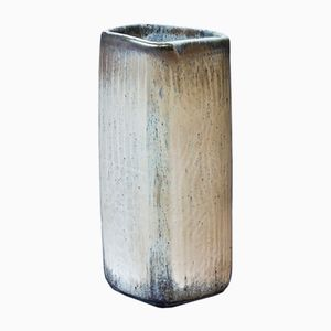 Cream Stoneware Vase by Gunnar Nylund for Rörstrand, 1950s