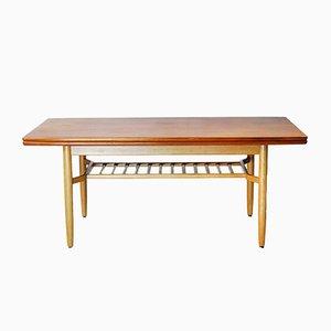 Swedish Folding Table by Folke Ohlsson for Tingströms Bra Bohag, 1950s