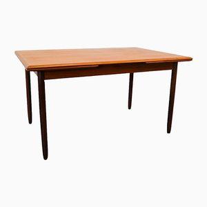 Mid-Century Vintage Danish Teak Extendable Dining Table