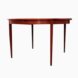 Model 15 Rosewood Dining Table by Niels Moller for J.L Moller Mobelfabrik, 1960s