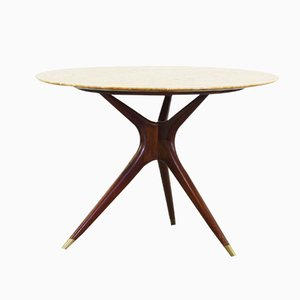 Round Dining Table by Ico Parisi for Ariberto Colombo, 1949