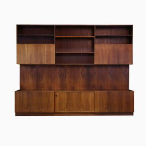 Danish Rosewood Wall Unit by Ib Koford-Larsen for Faarup Møbelfabrik, 1970s