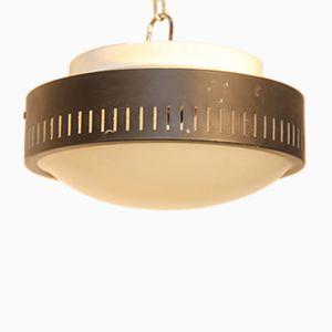 Italienische Mid-Century Deckenlampe von Stilnovo, 1950er