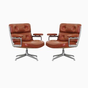 ES 105 Lobby Chairs by Charles & Ray Eames for Herman Miller, 1960, Set of 2
