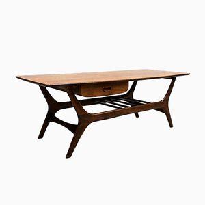 Vintage Coffe Table by Louis van Teeffelen for Webe, 1960s