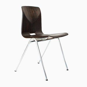 Dutch Industrial S25 Dining Room Chair from Galvanitas, 1975