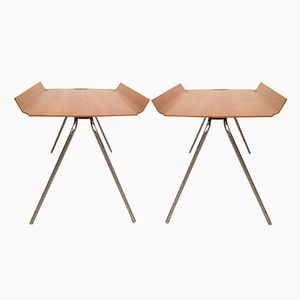 Stacking Side Tables by Hans Bellmann for Horgen Glarus, 1950s, Set of 2