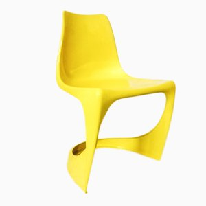 Mid-Century Model 290 Yellow Easy Chair by Steen Østergaard for Cado