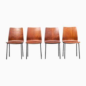 Euroika Esszimmerstühle von Friso Kramer für Auping, 1963, 4er Set