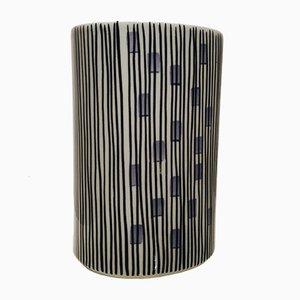 Finnish Mid-Century Vase by Rasinmaalattu Manomalao for Arabia