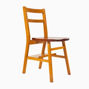 Stackable English Chairs, 1950s, Set of 2