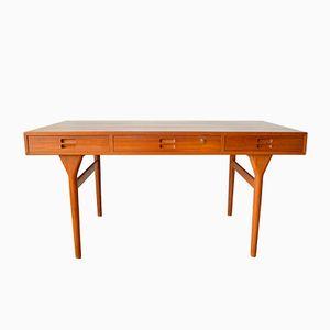 Danish Teak Desk by Nanna Ditzel for Søren Willadsen, 1955