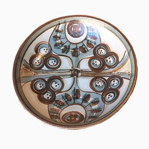 Vintage Danish Ceramic Bowl by Noomi Backhausen for Soholm Stentoj, 1971