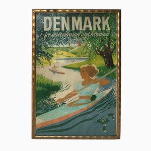 Britisches Dänemark Werbeplakat, 1950er