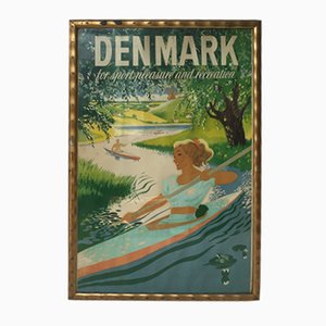 British Denmark Advertising Poster, 1950s