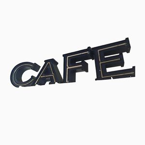 Lettere CAFE vintage, Austria, anni '80