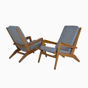 Modell FS 105 Sessel von Pierre Guariche für Airborne, 1950er, 2er Set