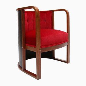 Barrel Chair by Joseph Hoffmann for Kohn, 1910s