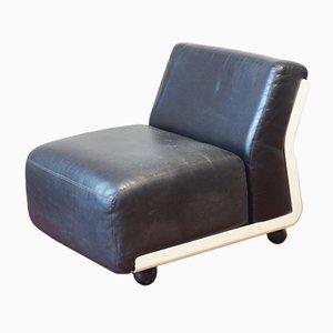 Amanta Leather Sofa Element by Mario Bellini for B&B Italia, 1966