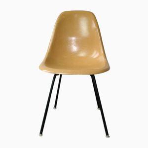 DSW Stuhl in Ocker von Ray & Charles Eames für Herman Miller, 1960er