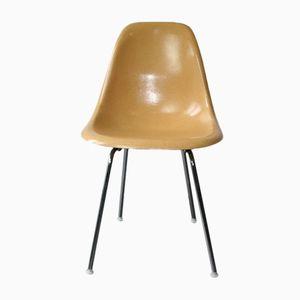 Ockerfarbener DSX Stuhl von Charles & Ray Eames für Herman Miller, 1960er
