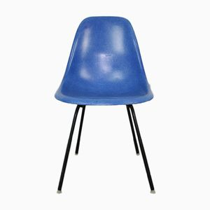 DSX Medium Blue Chair by Ray & Charles Eames for Herman Miller, 1960s