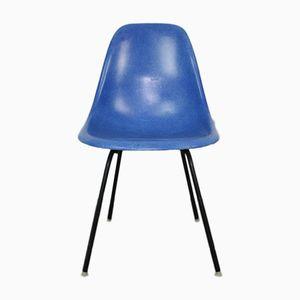 Medium DSX Stuhl in Blau von Ray & Charles Eames für Herman Miller, 1960er